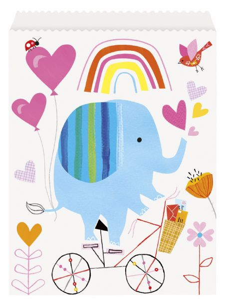 Zoo Baby Paper Goodie Bags (8)